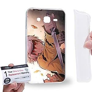 Case88 [Samsung Galaxy J5] Gel TPU Carcasa/Funda & Tarjeta de garantía - Is It Wrong to Try to Pick Up Girls in a Dungeon?Bell Cranel 1259