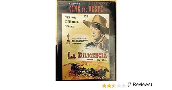 La Diligencia [DVD] (1939): Amazon.es: John Wayne, Claire Trevor, John Ford, Thomas Mitchell, John Carradine: Cine y Series TV