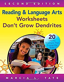Worksheet Worksheets Don T Grow Dendrites worksheets dont grow dendrites 20 instructional strategies that reading and language arts literacy engage
