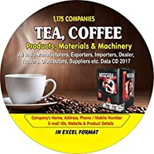 Tea, Coffee, Products, Materials & Machinery Companies Data