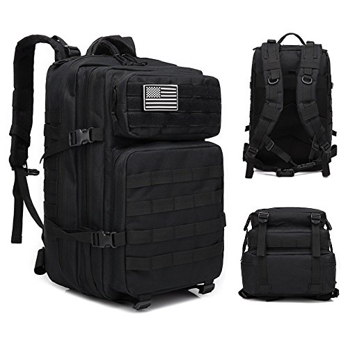 25d2ade3fb1d Brainzon 45L Military Tactical Backpack Large 3 Day Assault Pack Army Molle  Bug Out Bag Backpacks