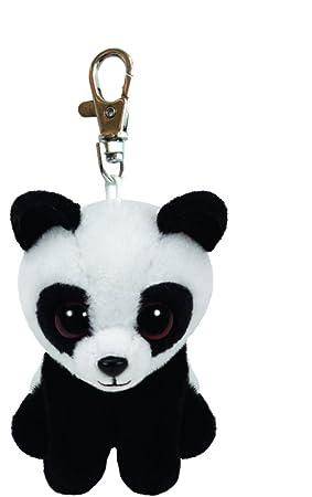Ty 36656 - Beanie Babies Baboo Clip - Oso Panda, 8.5 cm ...