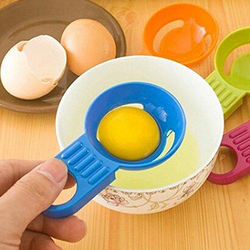 キッチンツールガジェット便利Egg YolkホワイトSeparator DividerホルダーSieve zsjhtc B07DFGKGBK