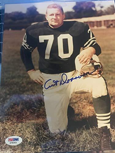 Art Donovan Hofer Baltimore Colts Autographed Signed Memorabilia 8x10 Photo JSA