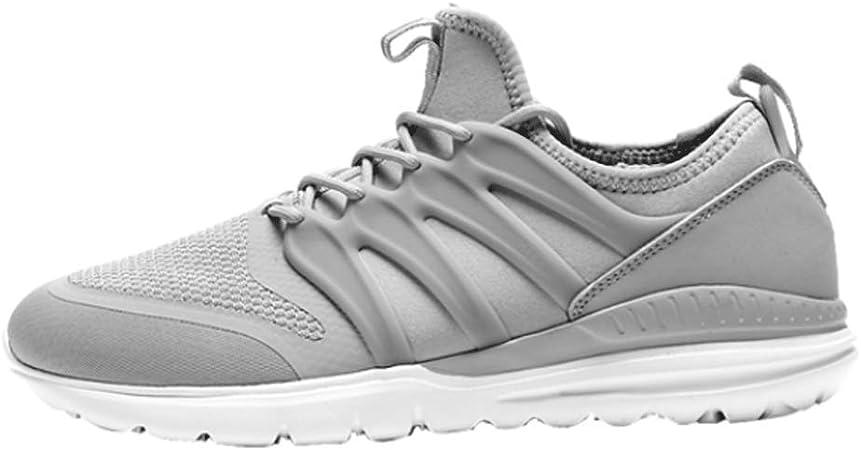 HAOLIN Men Button Strap Sneakers