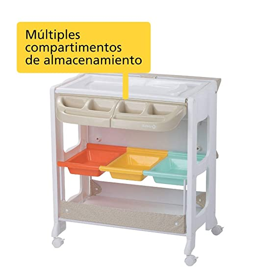 Safety 1st DOLPHY Warm Gray - Mueble Cambiador, color beige: Amazon.es: Bebé