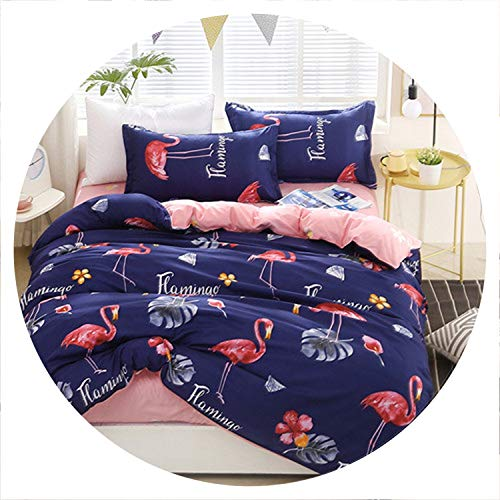 The small cat Black Rose Bedding Set Rose Heart Duvet Cover 3 or 4pcs/Set Summer Bed Set White Bedclothes Flora Flat Sheet Daisy Kid bedlinen,aiqingniao,Queen