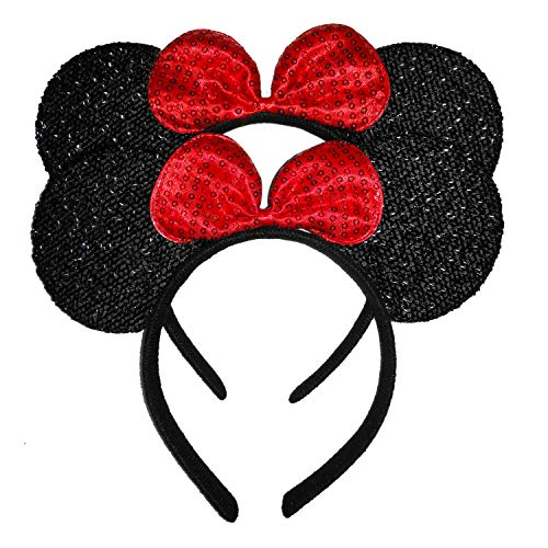 Red Glam Minnie Mouse Costumes - Pack of 2 Mickey Minnie Mouse