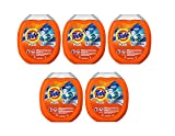 Tide PODS Plus Febreze Odor Defense Laundry MIZWn Detergent Pacs, Active Fresh Scent, Designed For Regular and HE Washers, 61 Count (5 Pack)