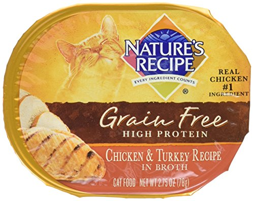 Nature's Recipe Grain Free Chicken & Turkey Adult Cat Food T