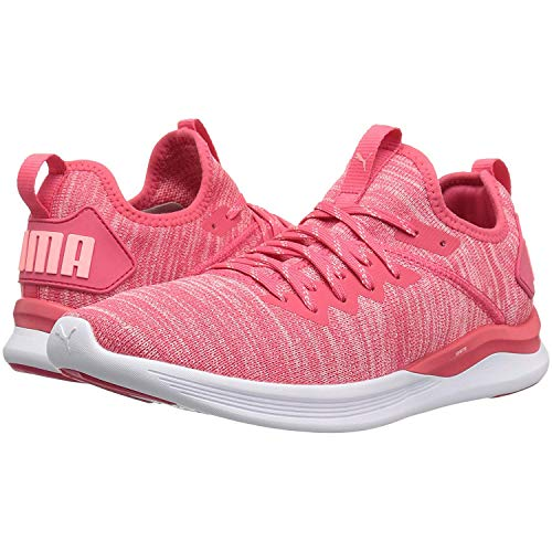 (PUMA Women's Ignite Flash Evoknit Wn Sneaker, Paradise Pink-Soft Fluo Peach, 7.5 M US)