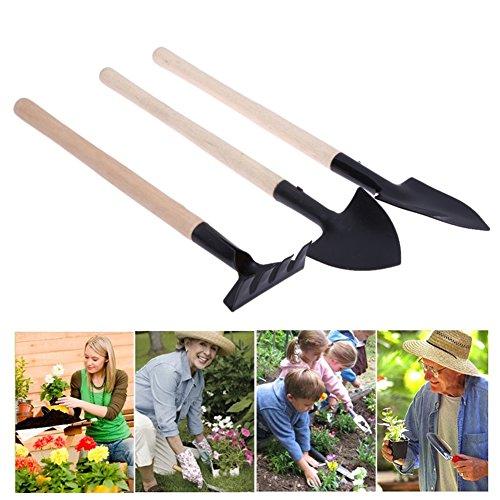 best garden tools 3pcs mini garden tool kit harrow spade shovel garden pots flower pots planting - Best Garden Tools