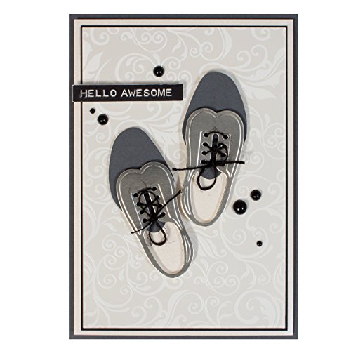 Spellbinders S4-609 Shapeabilities Gents Shoe Etched/Wafer Thin Dies ()