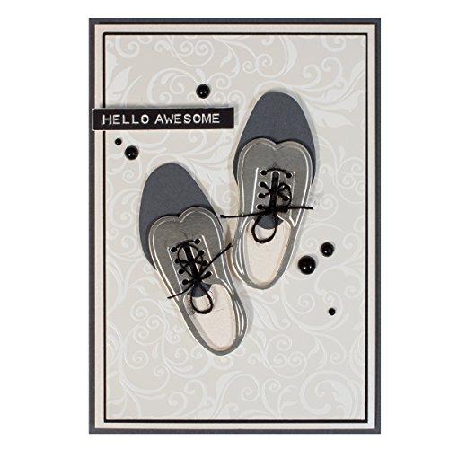 Spellbinders S4-609 Shapeabilities Gents Shoe Etched/Wafer Thin Dies