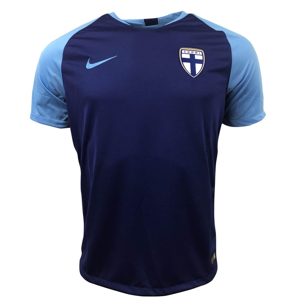 Nike 2018-2019 Finland Away Football Soccer T-Shirt Trikot