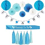BABY SHOWER DECORATIONS FOR BOY (BLUE):Its A Boy