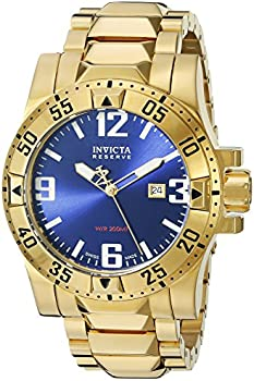 Invicta 18k Gold-Plated Men's Watch