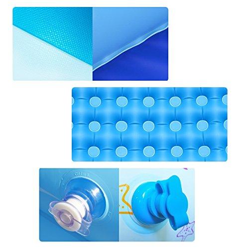 SYF Bathtub Foldable PVC Inflatable Pool Baby Bathtub Children Baby Pool Home Thickening Bathtub Comfortable Newborn Bathtub 115X85X70/140X100X70cm A+ (Size : 115X85X70cm) by Bathtub YAN (Image #3)