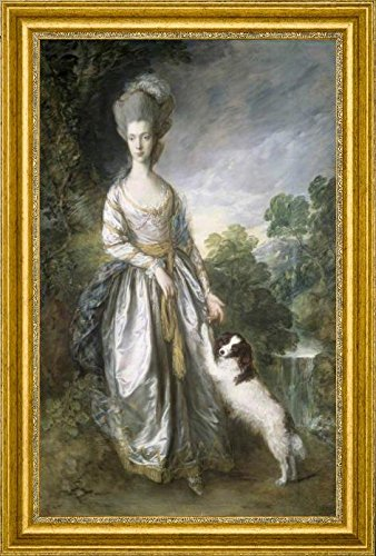 lady-brisco-by-thomas-gainsborough-19-x-28-framed-premium-canvas-print