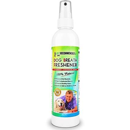 Vet Recommended - Dog Breath Freshener & Pet Dental Water Additive (8oz/240ml)