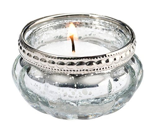 Lillian Rose Silver Light Glass product image