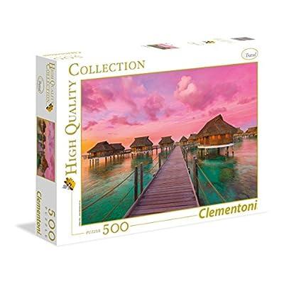 Clementoni 35016 Hqc Colorful Paradise Puzzle 500 Pezzi