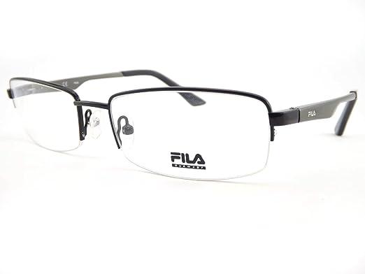 a50746a0e63 Fila Mens Glasses Frame Gunmetal VF9584  Amazon.co.uk  Clothing