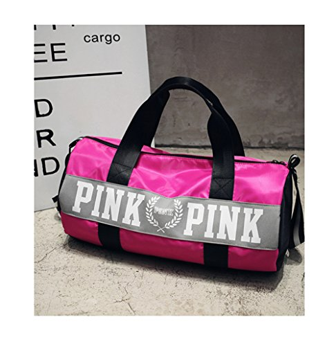 Beauty Smooth Design Lightweight Water-Resistant Folding Nylon Shoulder Bags  or Holdall Pink Gym Sports Bag - Buy Online in Oman.   Sports Products in  Oman ... b44464b310