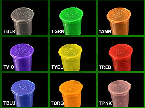 13 DRAM Squeezetops ONE PIECE PLASTIC CONTAINER QTY AVALIABLE (1200 PCS, MIX - ()