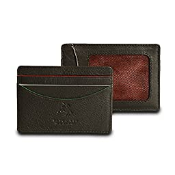 Visconti AG15 Oakmont Mens ID and Credit Card Holder Case AUGUSTA COLLECTION