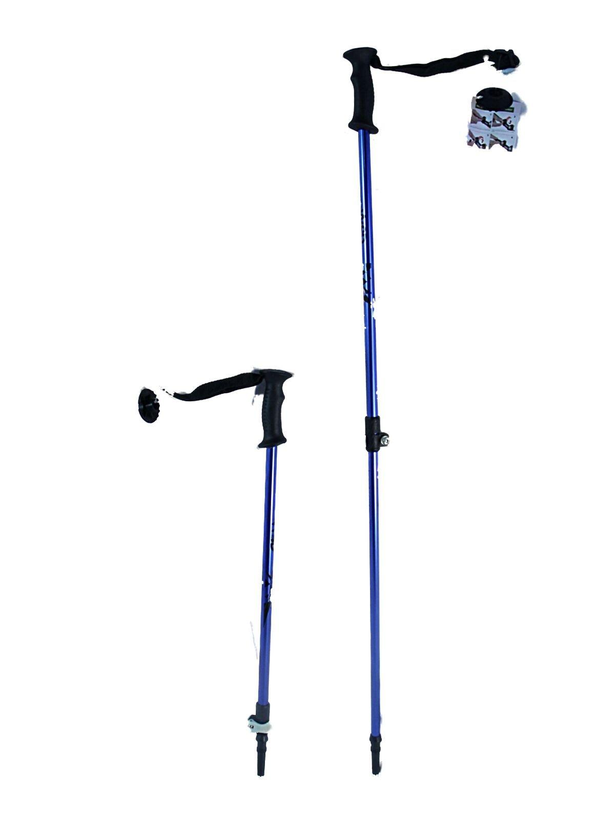WSD Ski poles Speedlock alpine/downhill Kids Junior size adjustable telescopic ski poles pair with baskets