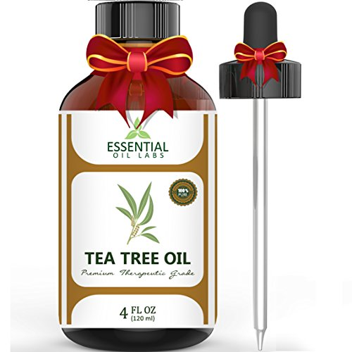 Tea Tree Oil - 100% Pure and Natural Therapeutic Grade Australian Melaleuca Backed by Medical Research - Large 4...