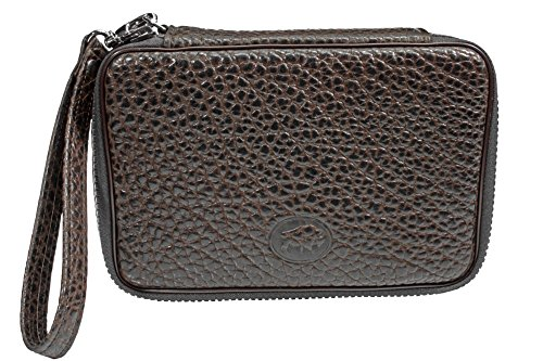 Martin Wess Germany ''Bison'' Buffalo Leather 4 Pipe Bag Case by Martin Wess