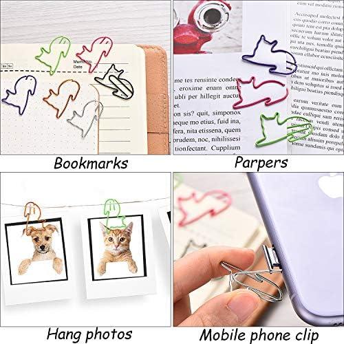 100pcs rosso yeahibaby metallo l amore a forma di cuore Graffette di carta Bookmark Pinze carta clip per Home Office scuola