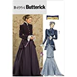 Butterick Patterns B4954 Misses'/Misses' Petite Early 20Th Century Costume, Size FF (16-18-20-22)