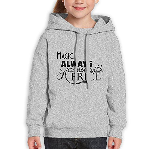 AZBABY All Magic Comes With A Price Dearie Once Upon A Time Unisex Teenage Long Sleeve Pullover Hoodie Sweatshirts