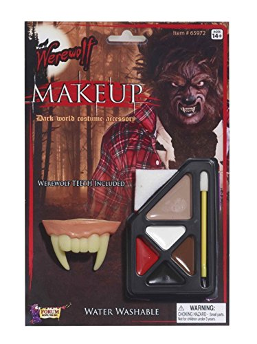 Forum Novelties Werewolf Makeup Kit