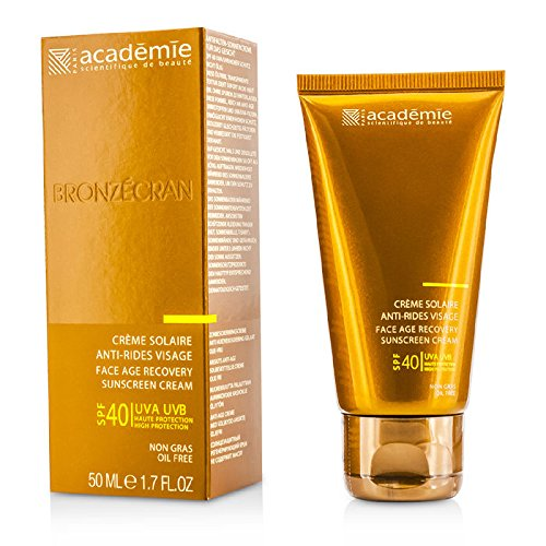 Academie Scientific System Face Age Recovery Sunscreen Cream SPF 40, 1.7 Ounce