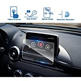 LFOTPP 2017-2018 FIAT 124 Spider MZD Connect 7 Inch Car Navigation Screen Protector, [9H] Tempered Glass Infotainment Center Touch Screen Protector Anti Scratch High Clarity