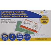 Business Card Laminating Pouch