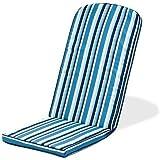 Gardenista® Gold Collection Swinging Stripe Piped Edge Garden Adirondack Chair Cushion Outdoor