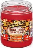 Smoke Odor Exterminator 13oz Jar Candle, Cherry Bomb