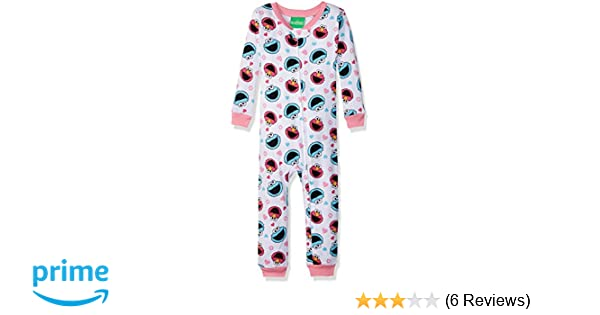 23745f97b2a5 Amazon.com  Sesame Street Baby Girls Elmo and Friends Cotton Non ...