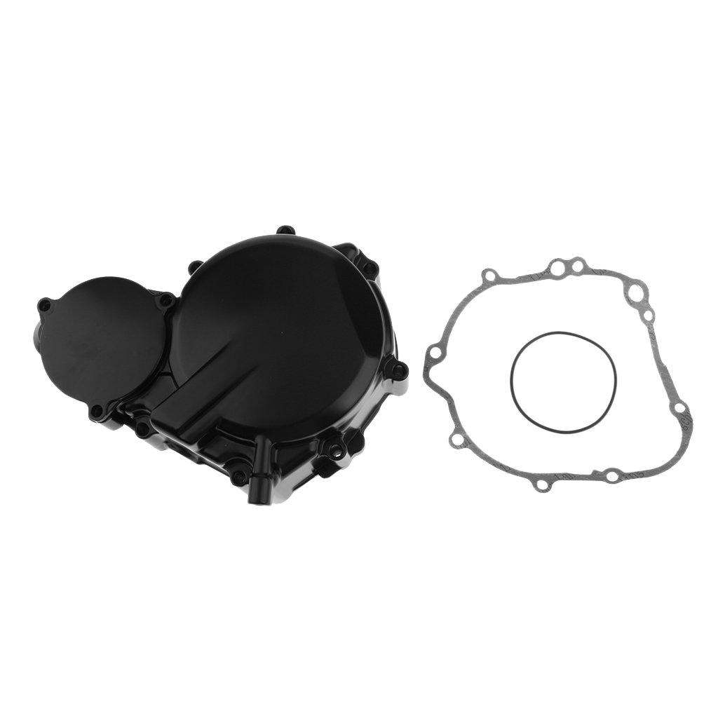Baoblaze Coperchio Copri Motore Statore Carter Statorico Sinistro Alluminio Nero Per Suzuki Gsx-r 600 2006-2016