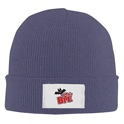 RZM Halloween I Won't Bite Winter Acrylic Knit Hat Soft Warm Beanie Hat]()