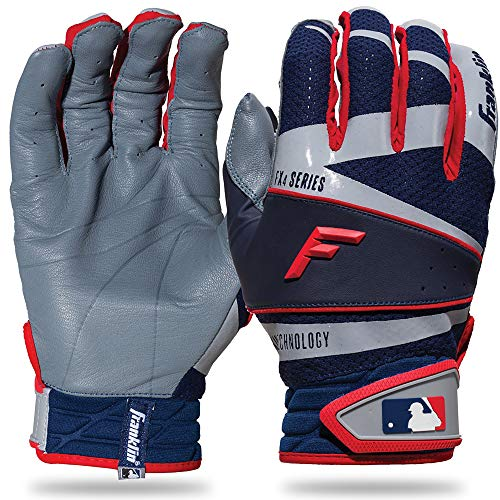 Gray Batting Gloves - 9