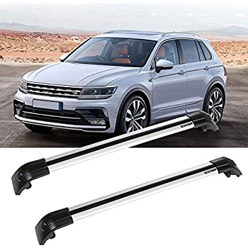 Roof Rack Cross Bars For Volkswagen Touareg 2006~2016 Aluminum Alloy Cross Rack