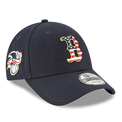 - New Era Co Boston Red Sox 2018 Stars & Stripes 4th of July 9FORTY