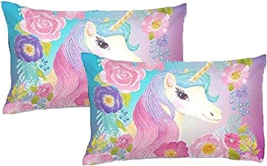 Personalised Word Art Print Star Rainbow Pastel Unicorn Cute Mum friend gift