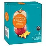 Organic Apple Mango Fruit Pouches 4ct - 3.2oz - Simply Balanced